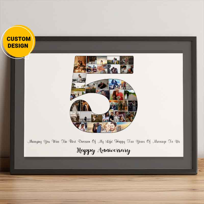 5th anniversary gift for him