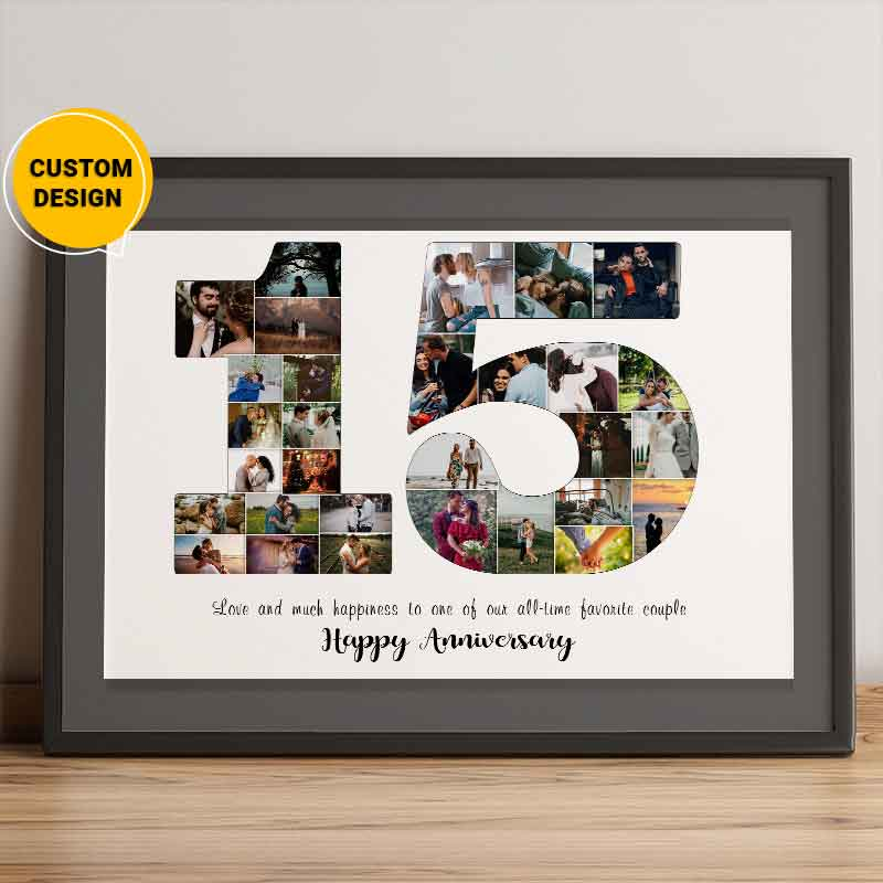 15th anniversary gift for husband