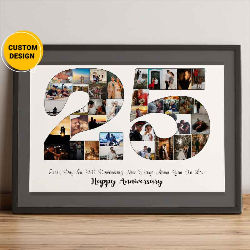 25th anniversary gifts for husband