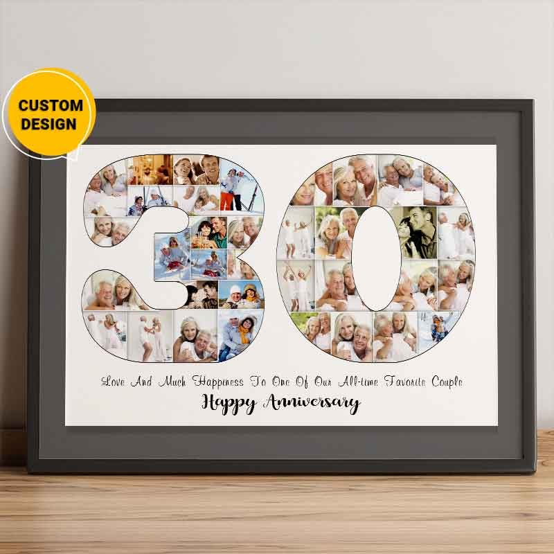 30th anniversary gifts for couples