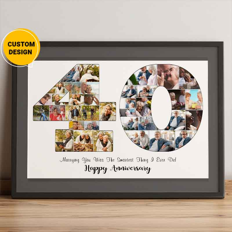 40th anniversary gift for parents