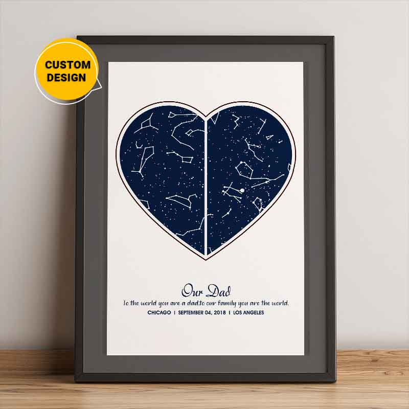 star map for dad