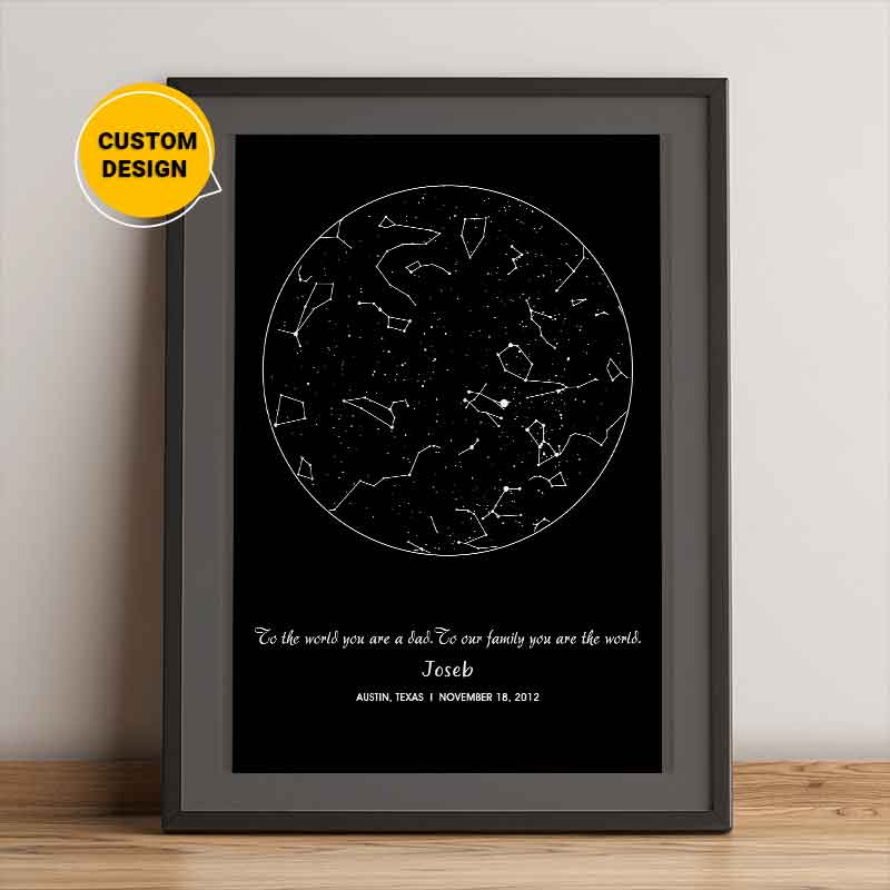 star map gift ideas